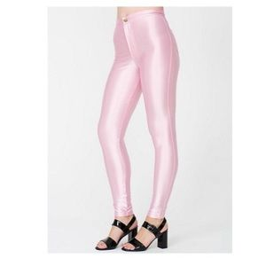American Apparel Pink Disco Pants XS SUPER RARE!